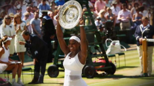 Wimbledon: Serena siegt, Grafs Rekord wackelt
