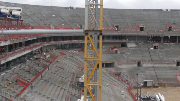 OL - Le Grand Stade prend forme
