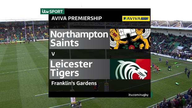 Aviva Premiership - Match Highlights - Northampton Saints v Leicester Tigers