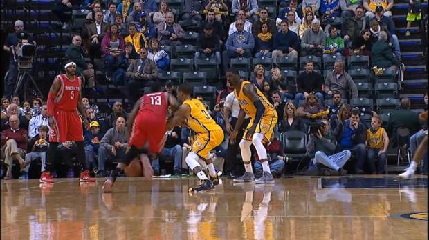 Basket : NBA - Harden écoeure Indiana