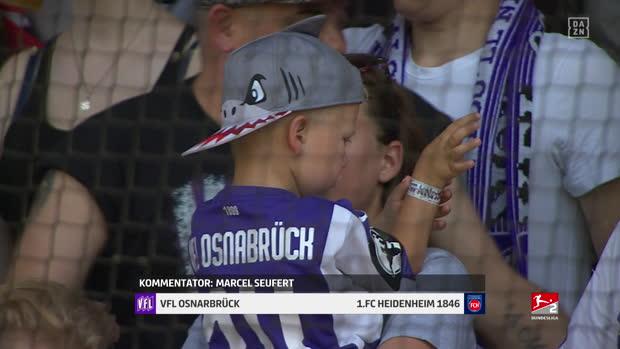 2. Bundesliga: VFL Osnbarück - 1. FC Heidenheim   DAZN Highlights