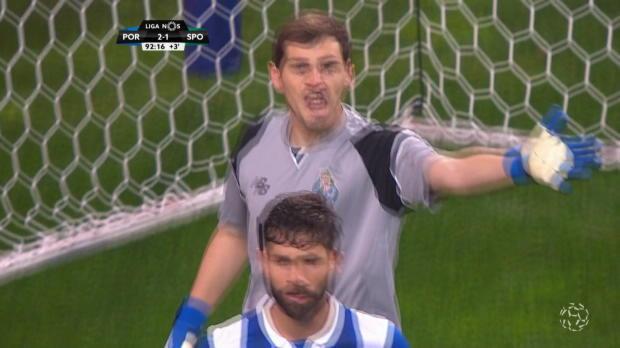 Unglaublicher Casillas bringt Porto die Spitze
