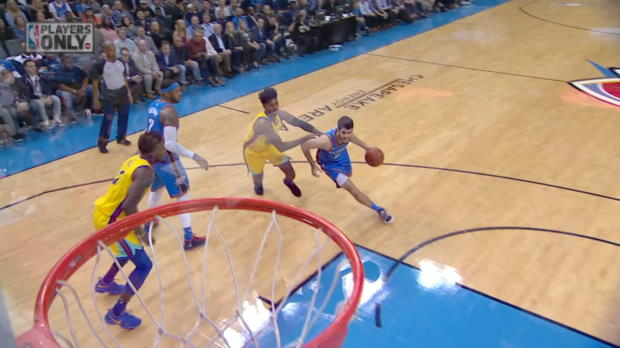 Dunk of the Night: Alex Abrines
