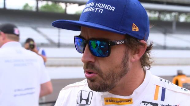 """500 millas de Indianápolis - Fernando Alonso: """"Cada día aprendo algo nuevo"""""""