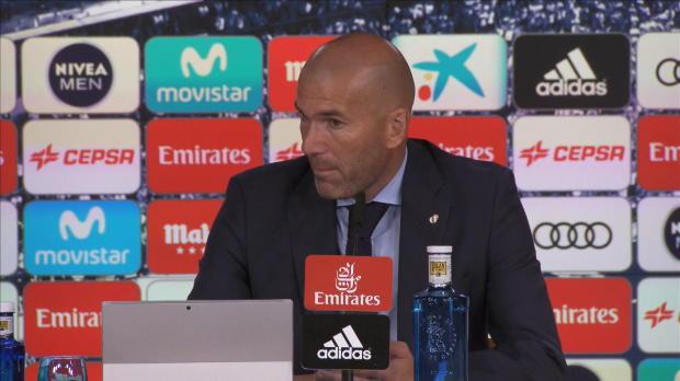 """Zidane nach Niederlage: """"Müssen ruhig bleiben"""""""