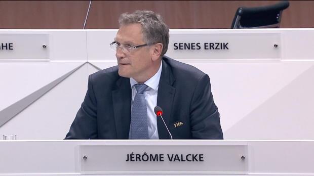 FIFA: Valcke: ''Folgen Sepp Blatter''