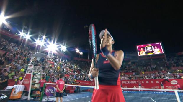Tennis : Hong Kong - Muguruza privée de finale
