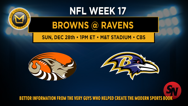 Cleveland Browns @ Baltimore Ravens