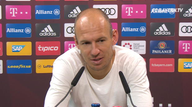 """Müller? Robben hat """"überhaupt keine Sorgen"""""""
