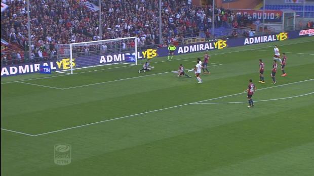 Serie A Round 36: Genoa 2-3 Roma