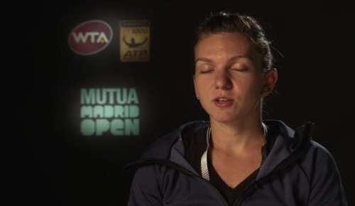 Halep Interview: WTA Madrid QF