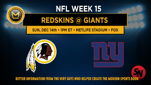 Washington Redskins @ New York Giants