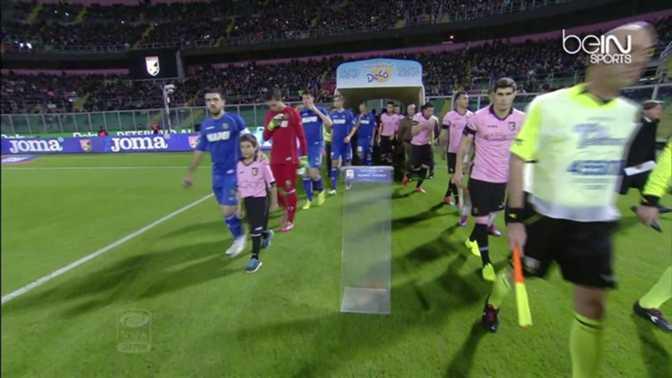 Serie A : Palerme 2-1 Sassuolo