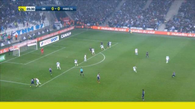 كرة قدم: الدوري الفرنسي: مرسيليا 1-5 باريس سان جيرمان