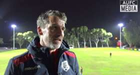 Head Coach Marco Kurz shares his thoughts following the friendly game with Campbelltown City last night.