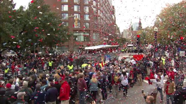 MLB: Parade! Red Sox feiern World-Series-Titel