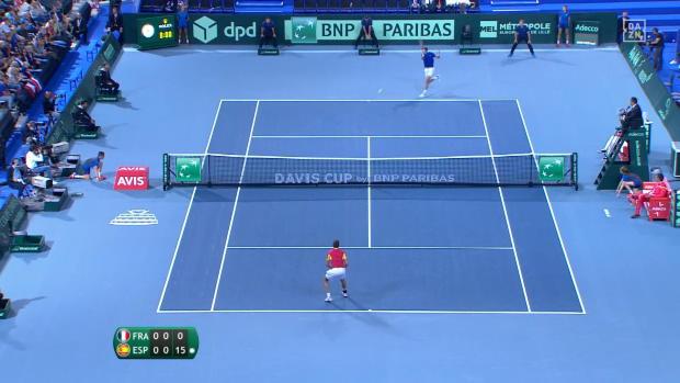 85 Schläge! Epischer Ballwechsel im Davis Cup