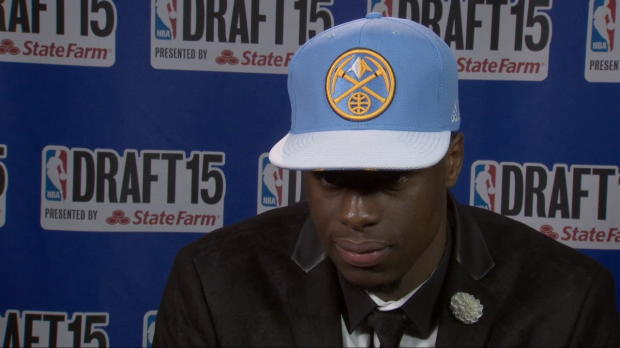 Emmanuel Mudiay Draft Night Interview