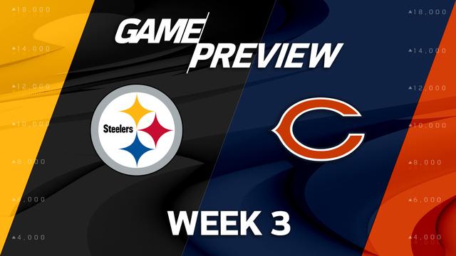 Pittsburgh Steelers vs. Chicago Bears Week 3 game preview