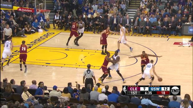 WSC: Highlights: Klay Thompson (26 points) vs. the Cavaliers, 1/16/2017