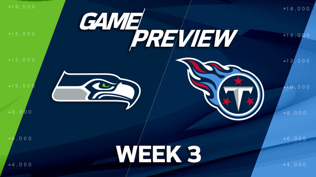 Seattle Seahawks vs. Titans preview | 'NFL Playbook'