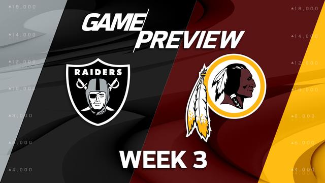 Oakland Raiders vs. Washington Redskins preview | 'NFL Playbook'