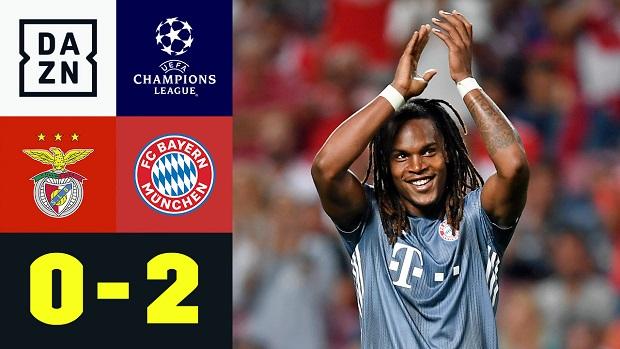 UEFA Champions League: Benfica - FC Bayern München | DAZN Highlights