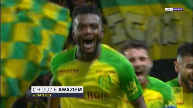 FOOTBALL: Ligue 1: Johnsson mit dem Mega-Patzer zum Nantes-Sieg