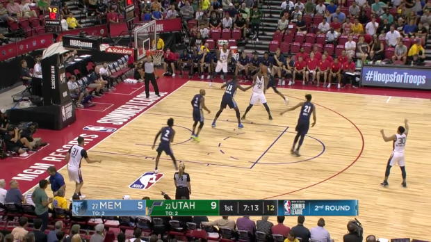 WSC: Jaren Jackson Jr. with 7 Blocks vs Utah Jazz