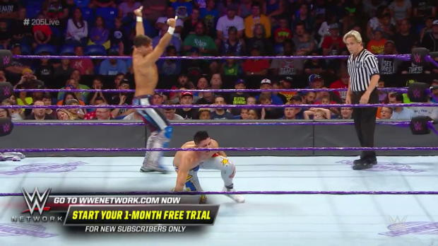 Noam Dar vs. TJP: WWE 205 Live, July 17, 2018