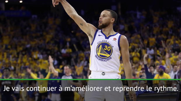 "Basket : Playoffs - Curry - ""Je me sens bien"""