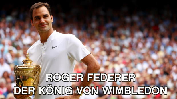 Wimbledon: Roger Federer, der alleinige König