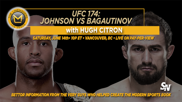 UFC 174 Johnson v Bagautinov