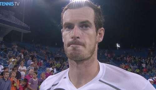 Murray Interview: ATP Cincinnati QF