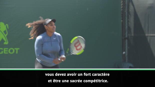 Interview - Ferrero - 'Serena a beaucoup de caractère, mais je l'admire'