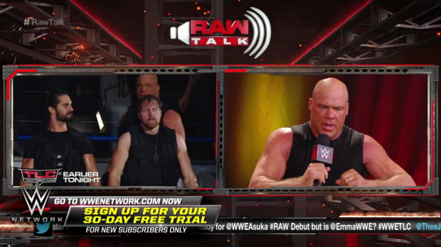 How did it feel for Kurt Angle to be part of The Shield? WWE Raw Talk, Oct. 22, 2017 (WWE Network Exclusive)