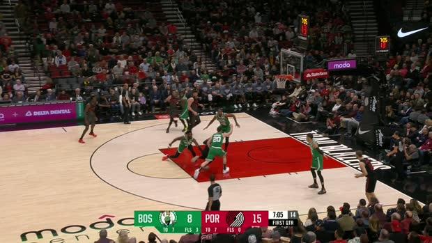 GAME RECAP: Trail Blazers 100, Celtics 94