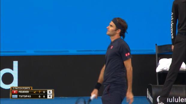 Basket : Hopman Cup - Federer s'est employé face à Tsitsipas