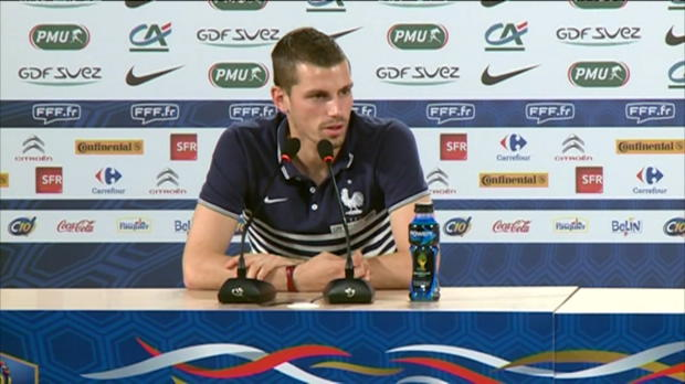 Bleus - Schneiderlin �voque 'la machine' Matuidi