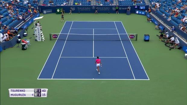 Tennis : Cincinnati - Élimination surprise de Muguruza