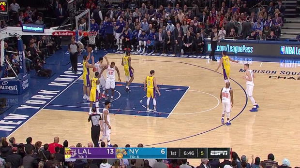 WSC: Kristaps Porzingis 37 points vs the Lakers