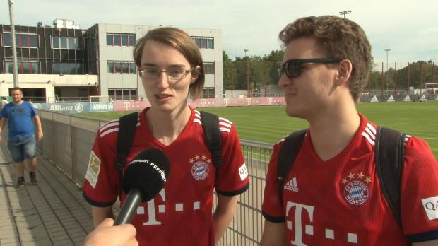 Konkurrenten um Meister? FCB-Fans setzen auf BVB