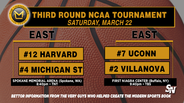 Harvard vs Michigan St, UConn vs Villanova