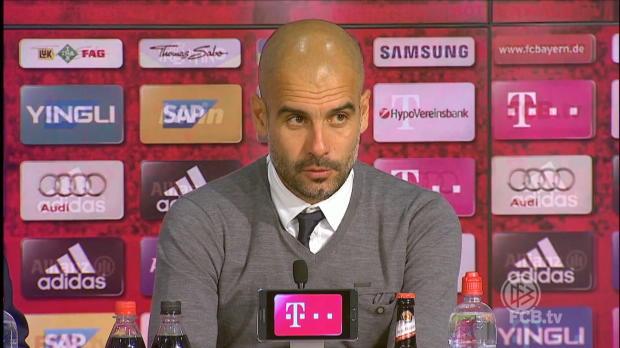 "Pep: ""Bestes Spiel gegen BVB als Bayern-Coach"""