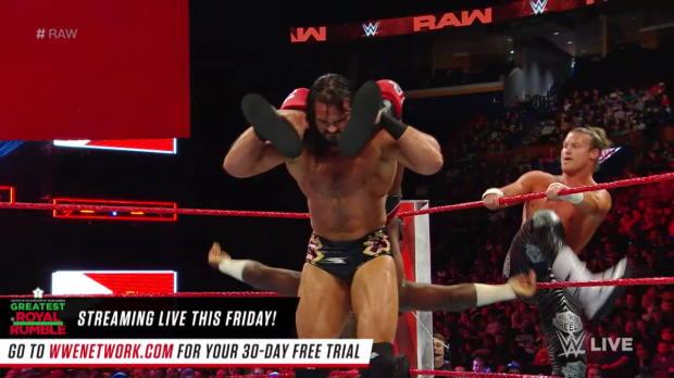 Titus Worldwide vs. Dolph Ziggler & Drew McIntyre: Raw, April 23, 2018