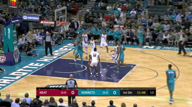 GAME RECAP: Heat 106, Hornets 105