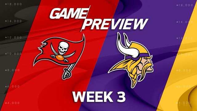 Tampa Bay Buccaneers vs. Minnesota Vikings preview | 'NFL Playbook'