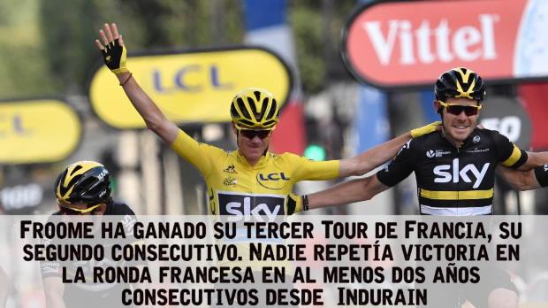 Tour de Francia: Etapa 21 - Greipel se impone en Par�s y Froom suma su tercer amarillo