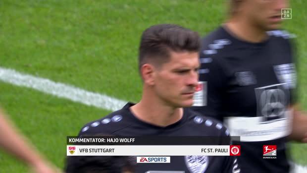 Video: 2. Bundesliga: VfB Stuttgart - FC St. Pauli   DAZN Highlights
