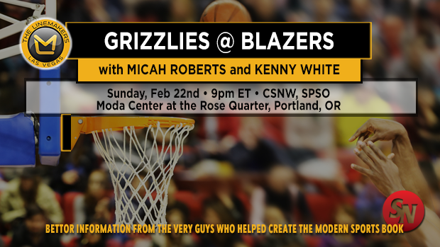 Sunday NBA: Grizzlies @ Blazers
